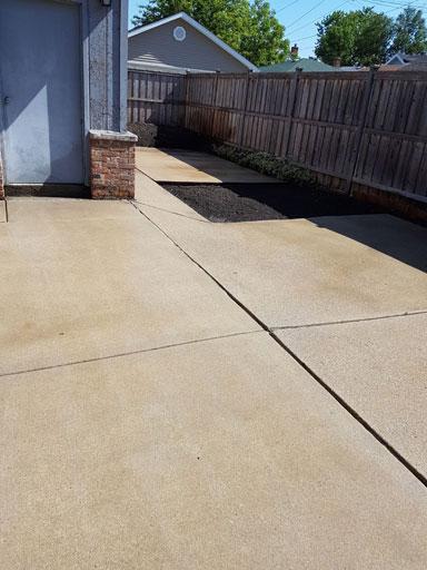 concrete power washing evanston il