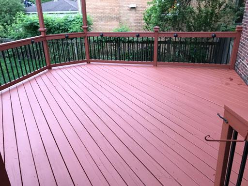 deck restoration des plaines il
