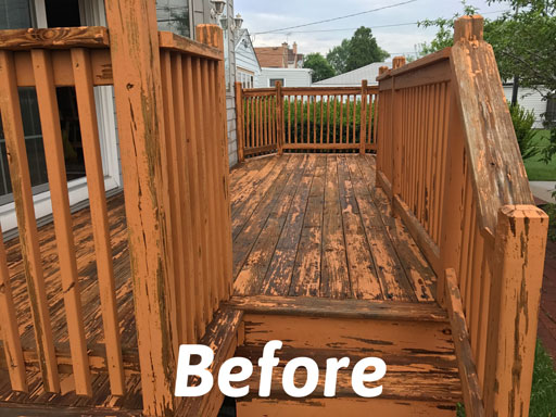 deck restoration niles il