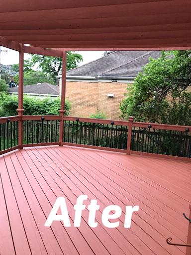 deck restoration oak park il