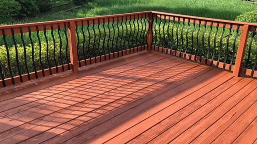 deck staining chicago il
