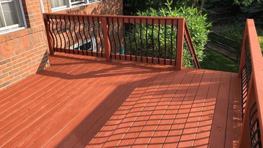 deck staining evanston il