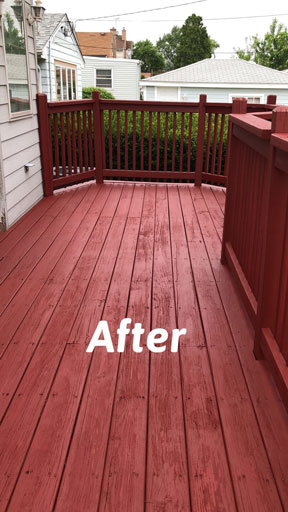 deck staining kenillworth