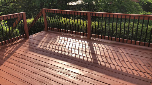 deck staining wilmette