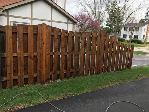 fence power washing wheaton