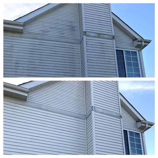 house siding soft washing